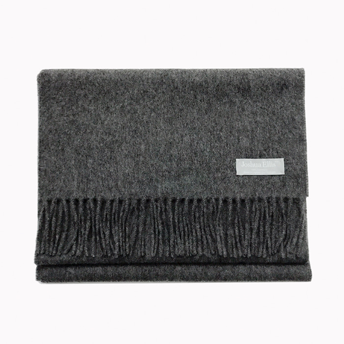 Joshua Ellis_ gray_ 100% cashmere_made in England